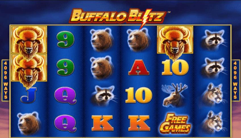 характеристики игрового автомата Buffalo Blitz